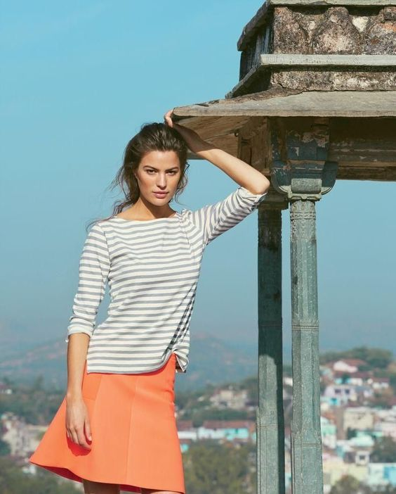 j crew june style guide12 Cameron Russell Stars in J. Crew's Leisure Filled June Style Guide