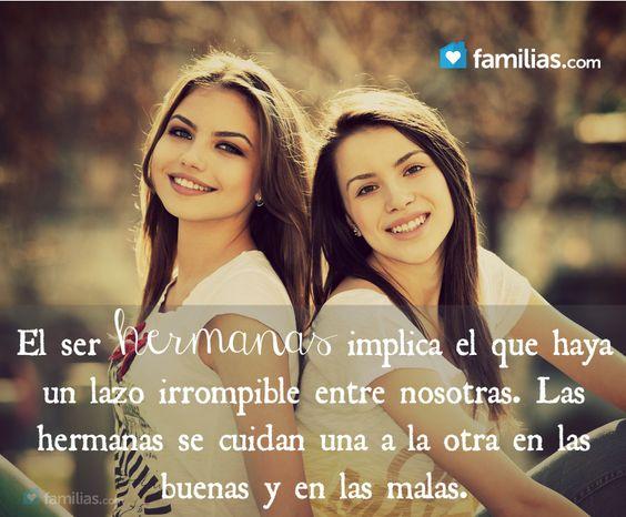 El ser hermanas las amo hermanitas pinterest - El tiempo dos hermanas aemet ...