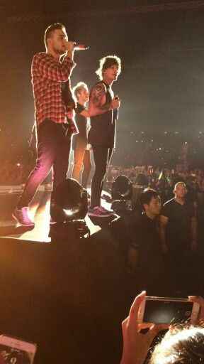 One Direction Performing at the Asia World Expo , Hong Kong 18.03.2015