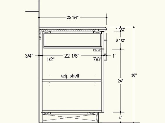 Proper Depth For Frameless Cabinets Info To Do Pinterest Overlays Cabinet Drawers And