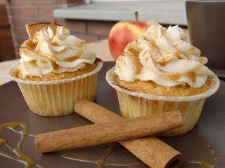 ApfelZimt Cupcakes für Adventshaus