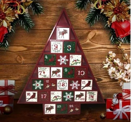 Top 27 Wooden Christmas Advent Calendars 2020 Wooden Advent Calendar Christmas Advent Indoor Christmas Decorations