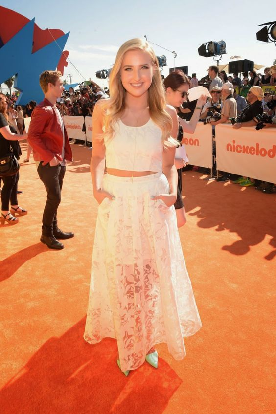 Actress @ Veronica Dunne At 2015 Nickelodeon Kids Choice Awards In Inglewood: