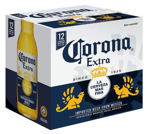 Corona Extra Imported Beer 12 Pk 12 Oz Bottles 4 6 Beer Pack Beer Pilsner Beer