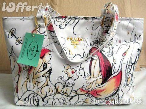 mint green perforated prada bag price