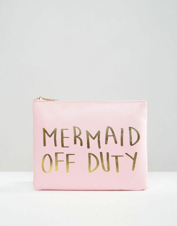 ASOS Mermaid Off Duty Bikini Bag