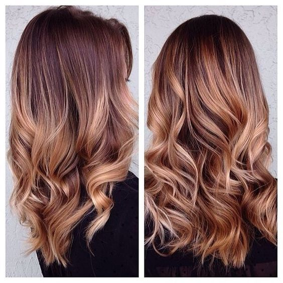 As you have noticed, I'm obsessed with caramel highlights!!