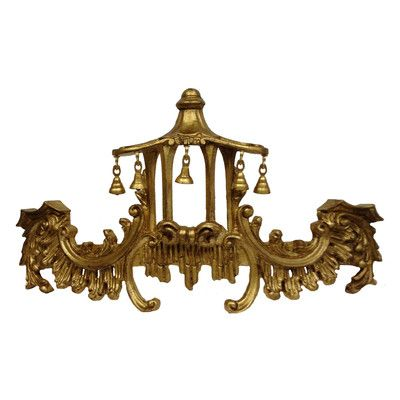 Hickory Manor House Campanello Bed Crown Wall Décor