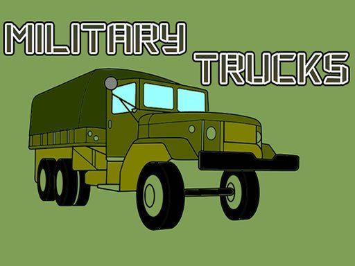 Military Trucks Coloring Truck Games Trucks Color