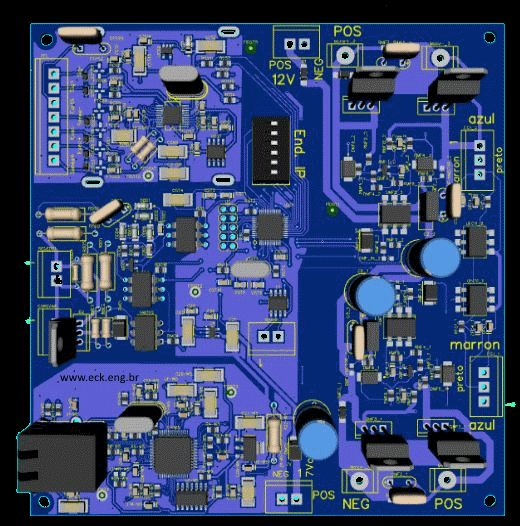 PCB Placa circuito impresso Controle da Maquina dosadora