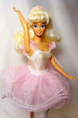 Pin By Vintagedove On Barbie Superstar Era Fashion Barbie Dolls Barbie Ballerina Doll Barbie Pink Dress Barbie Dress