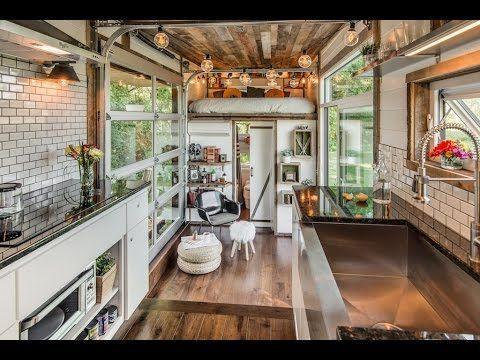 Awe Inspiring Beautiful 24 Foot Tiny House Tour With Free Plans Ana White Tiny Inspirational Interior Design Netriciaus