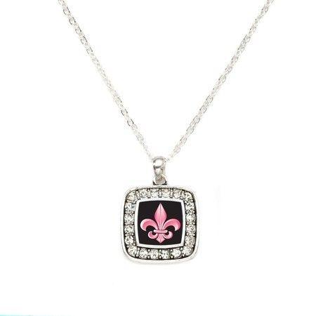Fleur De Lis Classic Charm Necklace  #inspiredsilver #necklace #charms