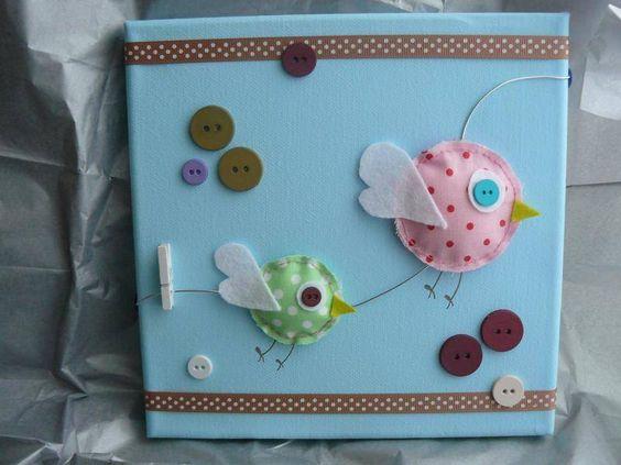 tableau deco chambre bebe quotles oiseauxquot bebe un With affiche chambre bébé avec envoi fleurs par correspondance