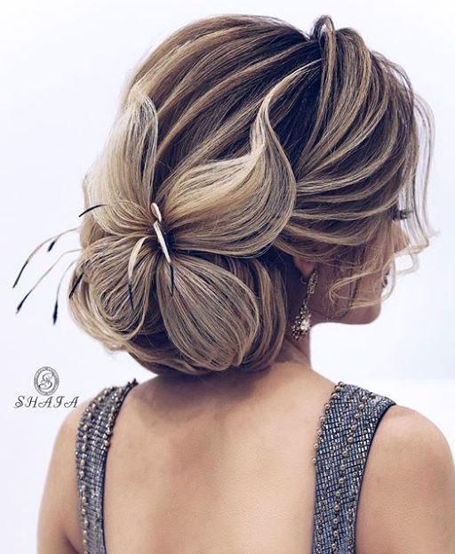 Kiểu tóc cưới cho mái tóc dài
