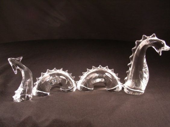 Baccarat crystal dragon