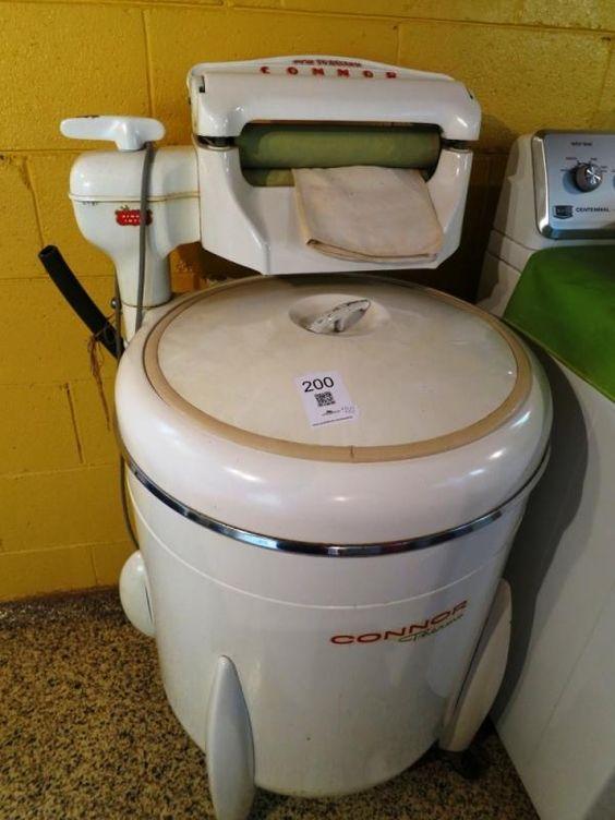 Vintage Washing Machine found on Youbidlocal Mississauga Estate Sale.