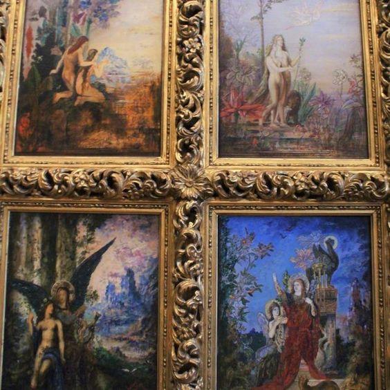 Gustave Moreau ???? #symbolism #gustavemoreau #moreau #art #painting #instaart #dailyart #artist #frenchartist #museum #paris #canvas #closeup #detail #frame #colorful #colors #museegustavemoreau #loveart #tableau #nineteenthcentury #findesiecle #modernart: