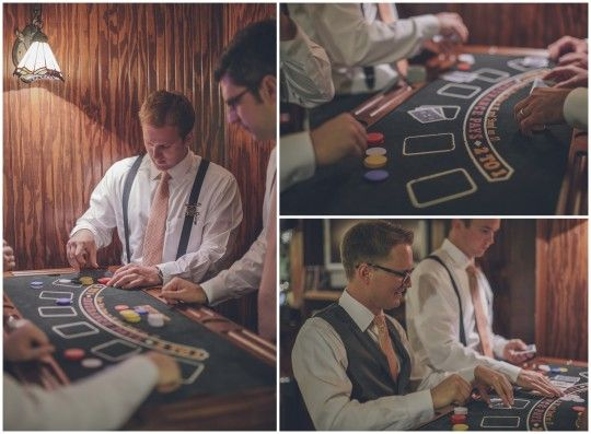 Man Cave | CJ's Off the Square | Vintage Garden Wedding  | Perch Photography