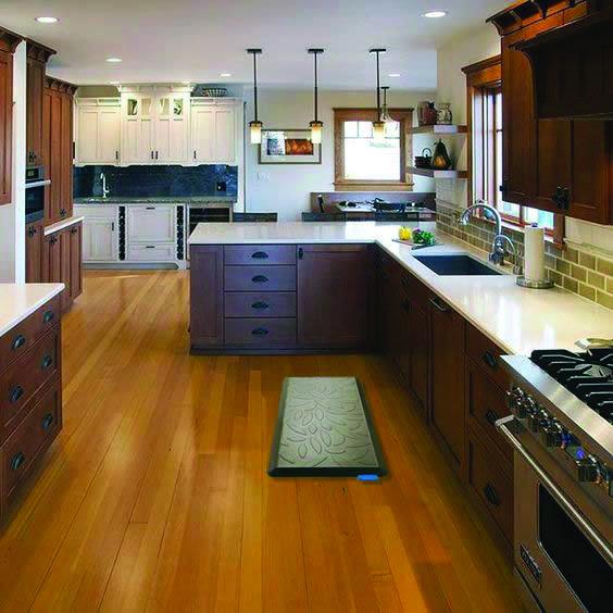 Gorgeous Kitchen Flooring Ideas Kitchen Flooring Kitchen Mat