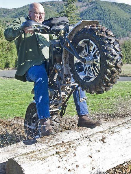 Hardon for Rokon motorcycles