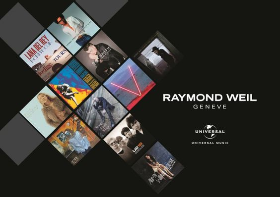 Raymond Weil et Universal Music