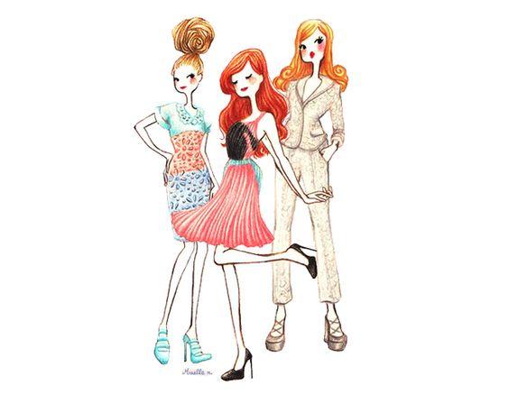 dolls illustration - Buscar con Google