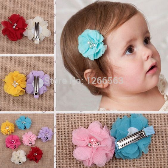 $1.59 (Buy here: http://appdeal.ru/52d0 ) Hot Sale BB Clip Hairclip Baby Girl Headdress Accessories Hair Clips Infant Toddler Kid Girls Hairpin 7Colors for just $1.59