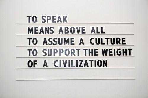 quote by Frantz Fanon // Black Skin, White Masks (1952)    art bymikko kuorinki.