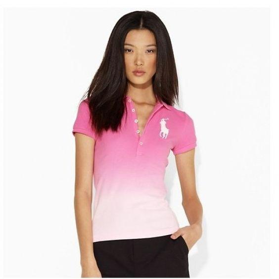 Ralph Lauren Classic Custom Light Pink Big Pony Women