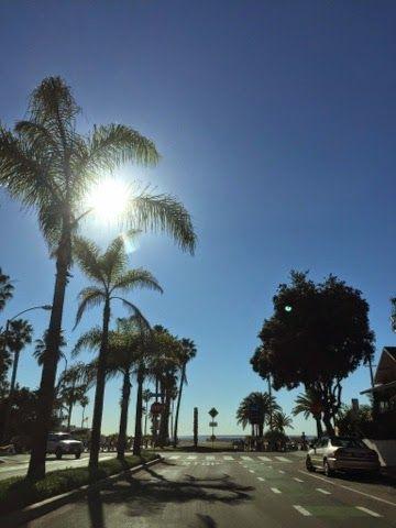 friends in america: Sonniger Wintertag
