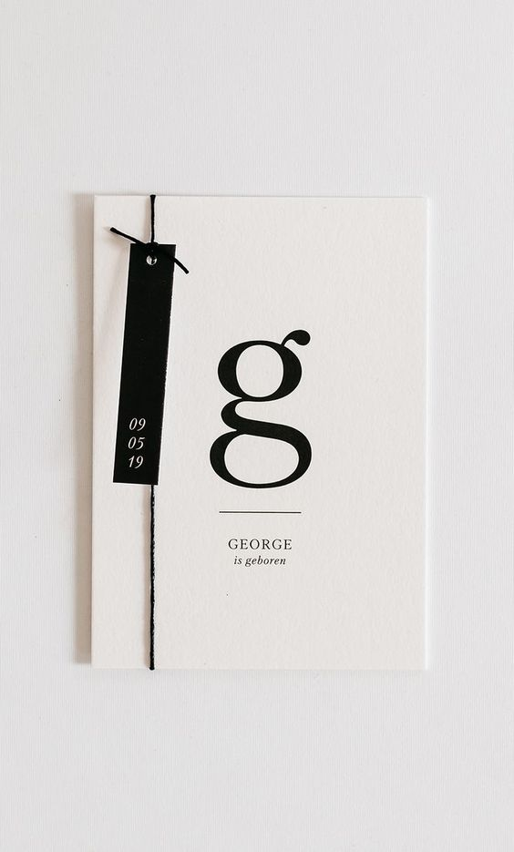 Love the modern minimalism of this. Classic, chic, simply stated. #DesignInspiration #DesignIdeas #GraphicDesign #Branding #Design