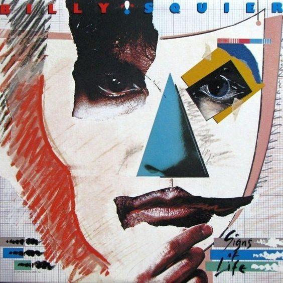 Billy Squier - Signs Of Life CANADA 1984 Lp mint w/LyricsInner