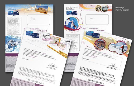 Flyer / Mailing papier - Graphiste freelance - Grafiz.com