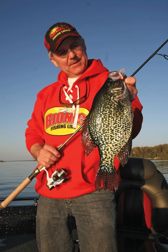Early spring crappie tactics in fisherman panfish for Crappie fishing ohio