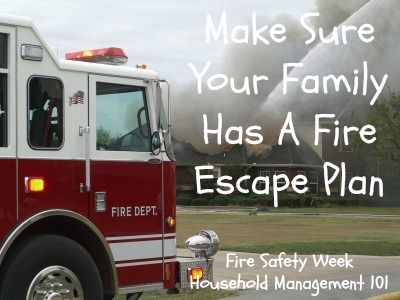 Fire Escape Plans Make Sure Your Family Has One And Your