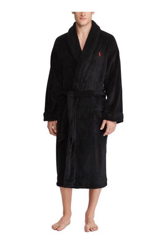 c/álido y de peluche alargado albornoz dom/éstico tejido de rizo chal Albornoz para hombre vestido para hombre ropa larga abrigo ducha Wechoide