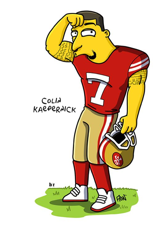 The NFL Simpsonsified