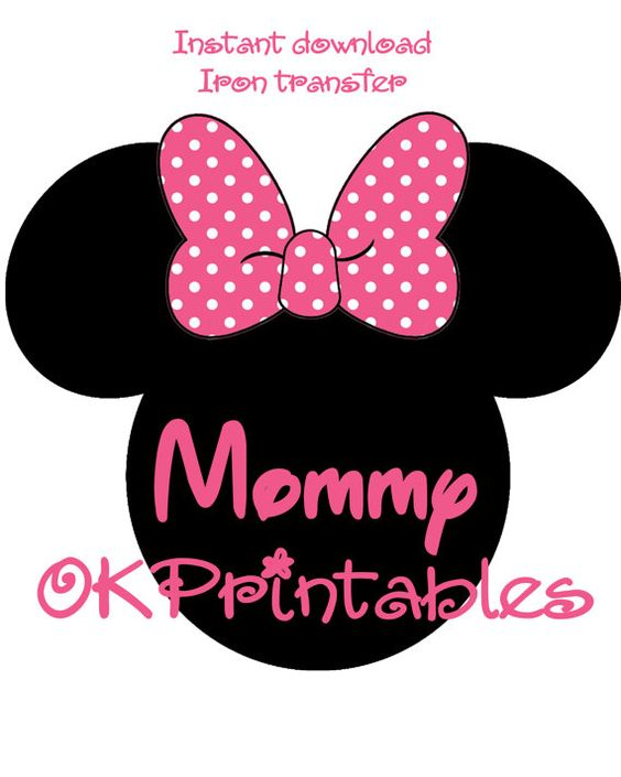 Minnie Mouse Iron On Birthday Shirt Iron On by OKprintables