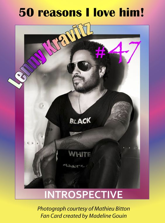 Lenny Kravitz is a man of simplicity within a complex existence. Feng shui is close to his heart. (Copyright, 2014)