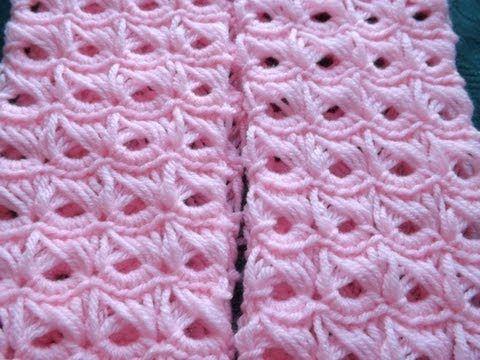 ▶ Crochet Punto Palo de Escoba Parte 1 - YouTube