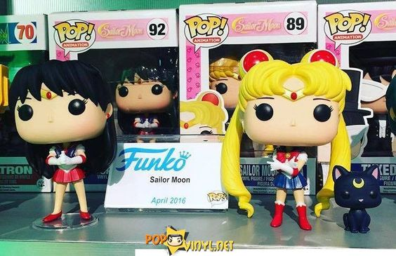 Sailor Moon POP Vinyl http://popvinyl.net/news/sailor-moon-pop-vinyl/ #funko #popvinyl #SailorMoon