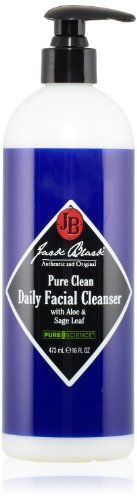 Jack Black Pure Clean Daily Facial Cleanser, 16 fl. oz. - http://bits2blog.com/jack-black-pure-clean-daily-facial-cleanser-16-fl-oz/