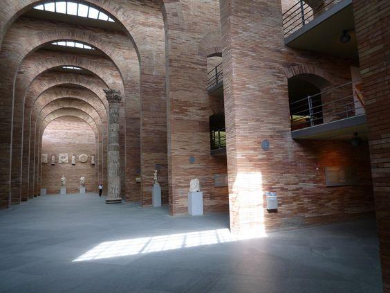 Museo Nacional de Arte Romano, Mérida, España - José Rafael Moneo - foto: usuario de Flickr Alvaro Perez Vilarino
