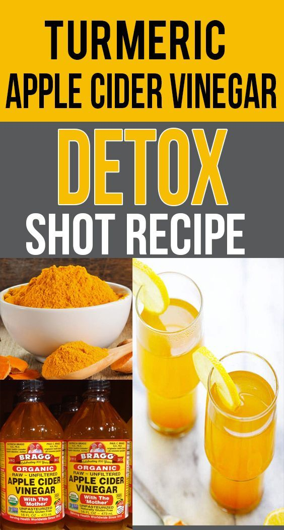 Turmeric Apple Cider Vinegar Detox Shot Recipe With Images