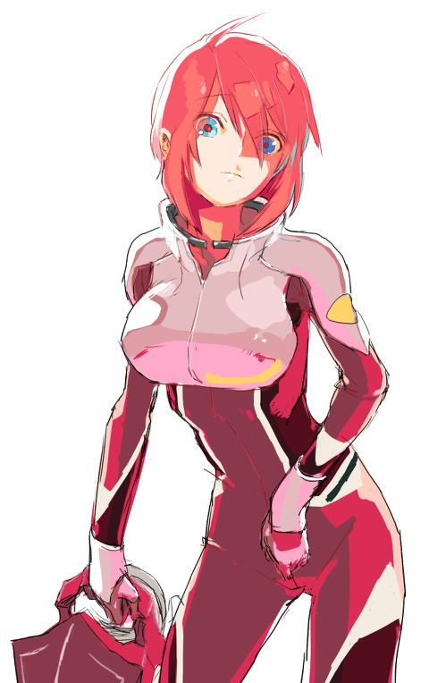 Lunamaria Hawke (ルナマリア・ホーク Runamaria Hōku) is an elite ZAFT MS pilot (red ace) who serves aboard the Minerva. Lunamaria is a 17 year old Coordinator from the PLANTS, & her MS of choice is a ZGMF-1000 Zaku Warrior.