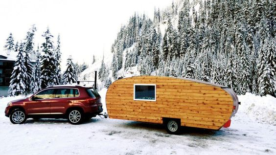 A Gorgeous, Eco-Friendly Camp Trailer