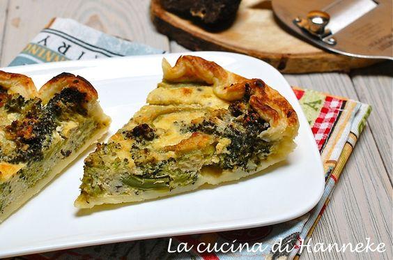 Torta salata ai broccoli e tartufo