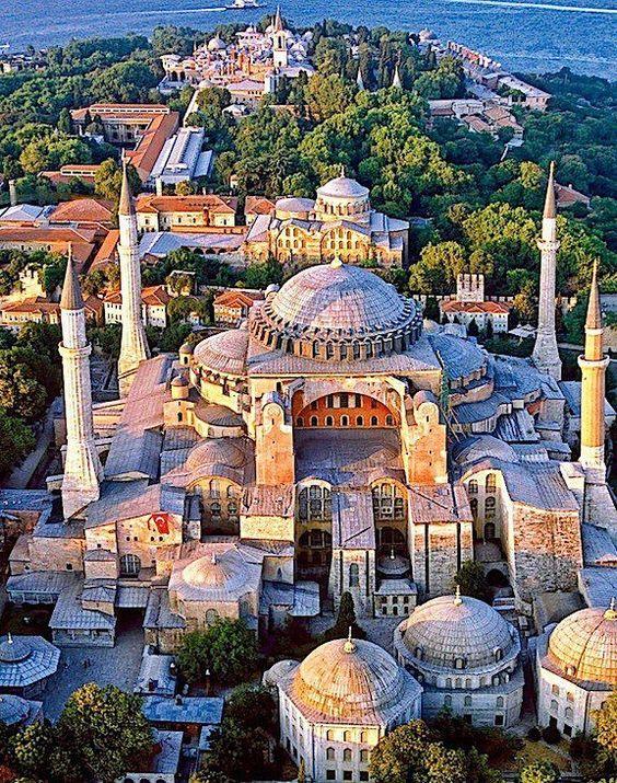 Catedral de Santa Sofía en Estambul, Turquía.