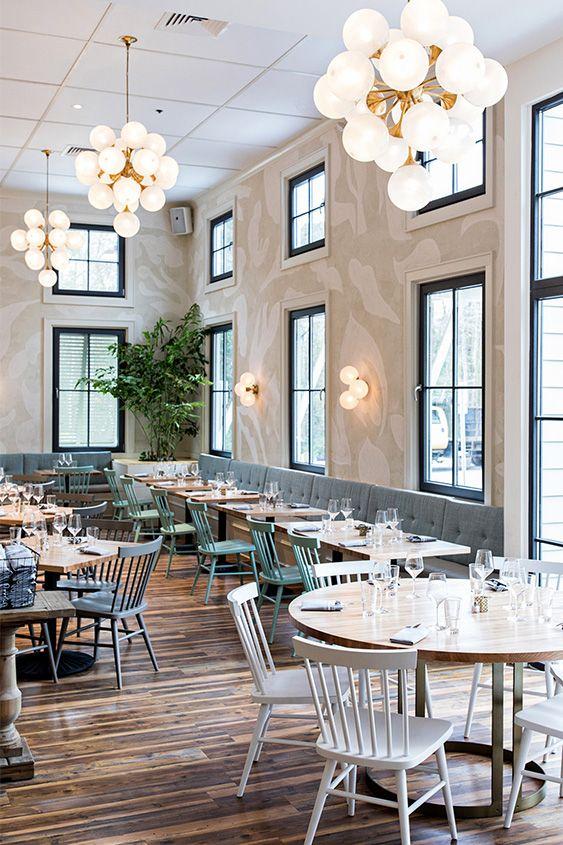 An Elegant Cozy Traditional Restaurant Design The Royal Tern Rustic Restaurant Interior Restaurant Design Cafe Interior Design